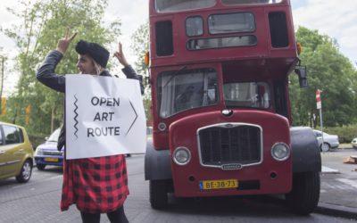 De Open Art Route is het kunstenfestival van de Bijlmer en biedt een openhartige confrontatie met alle mogelijke uitingsvormen van internationale hedendaagse kunst in en rondom de artistieke werkruimtes in Amsterdam Zuidoost.